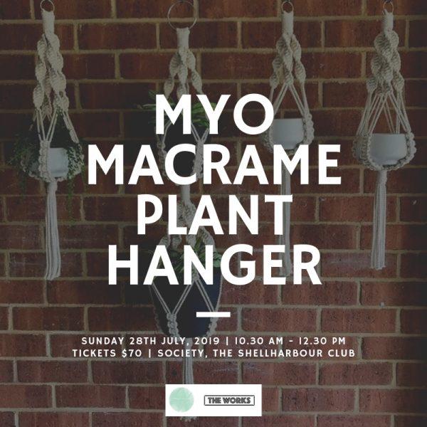 MYO Macrame Plant Hanger