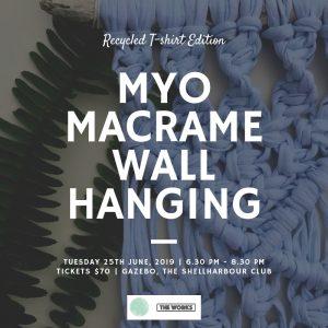 MYO Macrame Wall Hanging - square